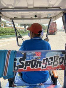 フィリピンのマニラでトライシクル