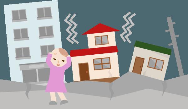 地震保険による建物損害