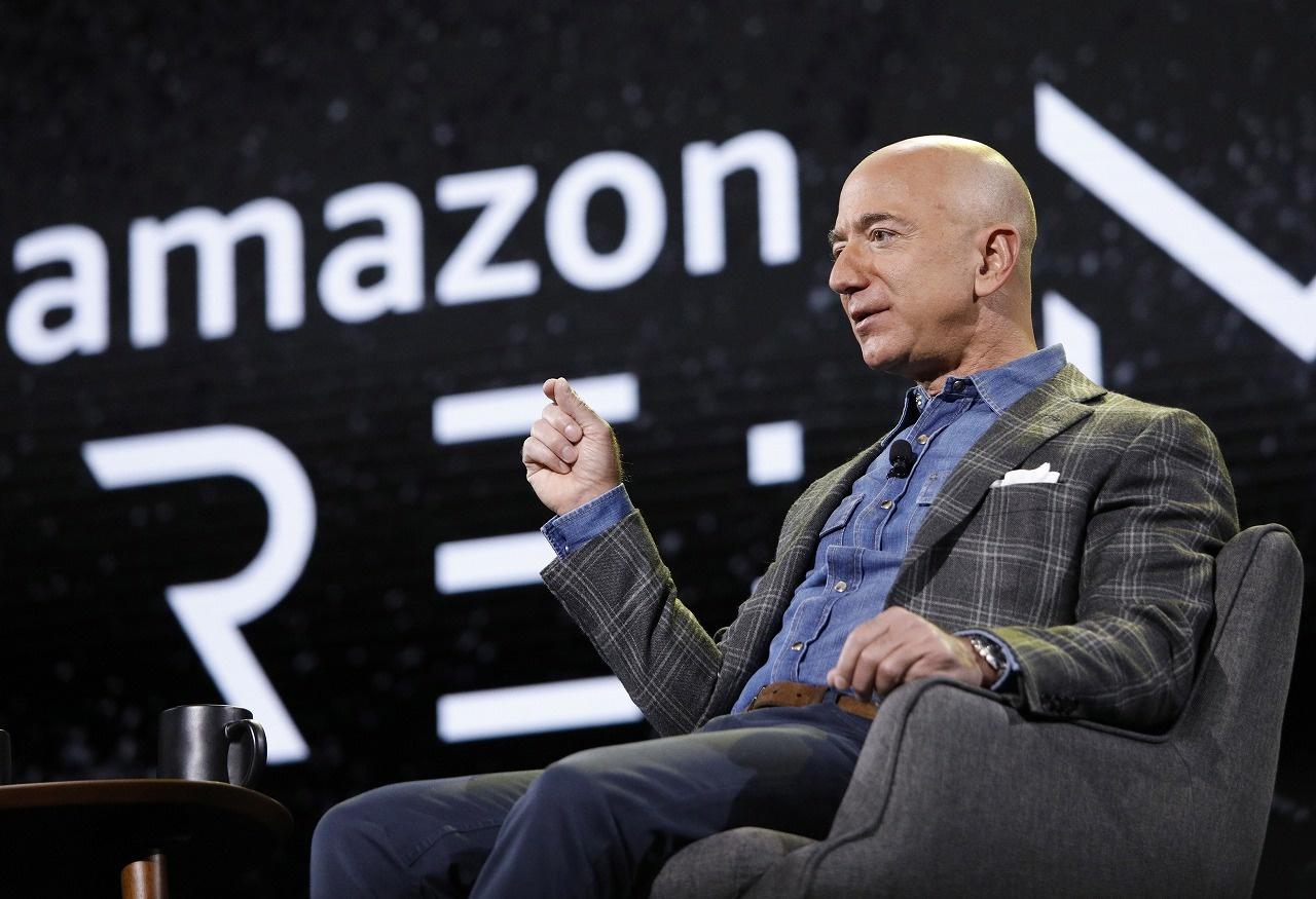 Amazon起業のジェフベゾス